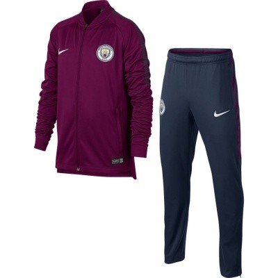 Foto van Manchester City Dri-FIT Squad Trainingspak Kids True Berry