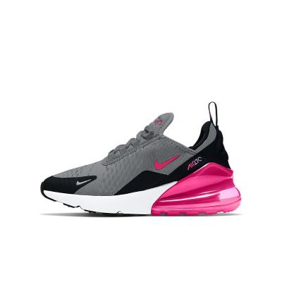 Foto van Nike Air Max 270 Big Kids Smoke Grey Hyper Pink