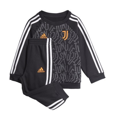 Foto van Juventus 3-Stripes Baby Joggingpak Black