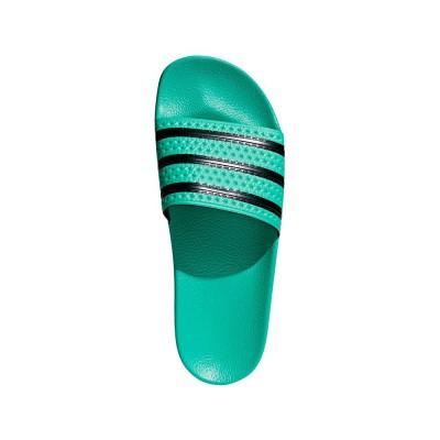 Foto van Adidas Adilette Slippers Hi-Res Green
