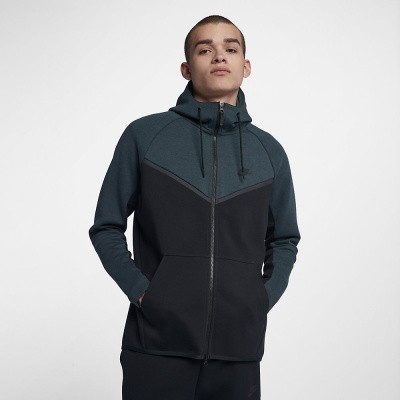 Foto van Nike Sportswear Tech Fleece Windrunner Jungle Green