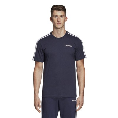 Foto van Adidas Essentials 3 Stripes Set Blauw