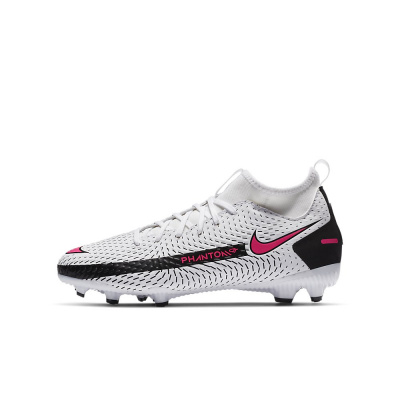 Foto van Nike Phantom GT Academy Dynamic Fit FG Kids White Pink