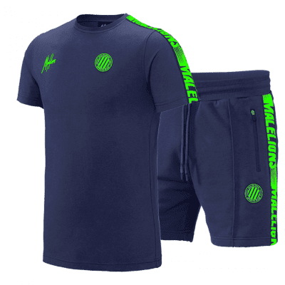 Malelions Twinset Home kit Sport Navy Green