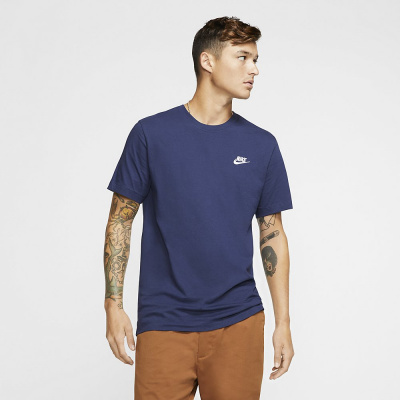 Foto van Nike Sportswear Club T-Shirt Midnight Navy