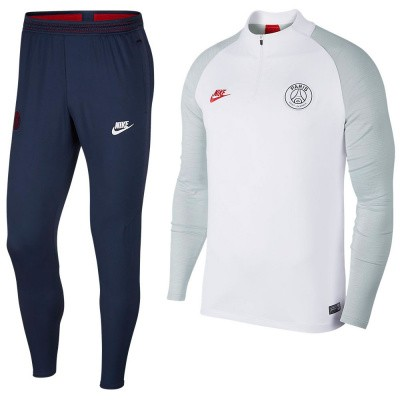 Foto van Paris Saint-Germain Dri-FIT Squad Drill White