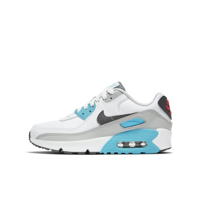 Foto van Nike Air Max 90 Kids Leather White Iron Grey