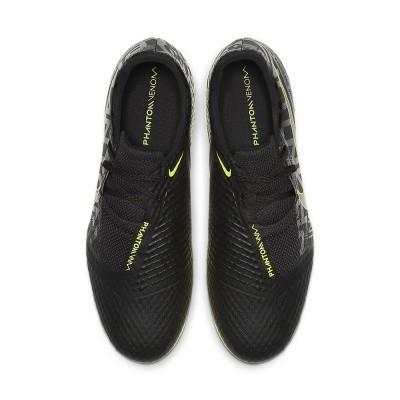 Foto van Nike PhantomVNM Academy FG Black-Volt