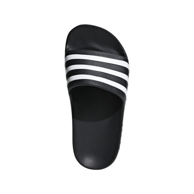 Foto van Adidas Adilette Aqua Slippers Black-White Kids