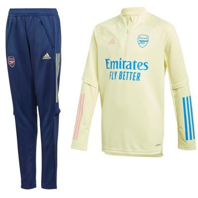 Foto van Arsenal FC Trainingsset Kids Yellow Tint