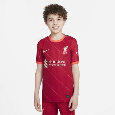 Foto van Liverpool FC Stadium Thuis Shirt Kids 2021/22