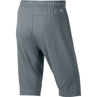 Foto van Nike Dry-Fit Fleece Short Grijs