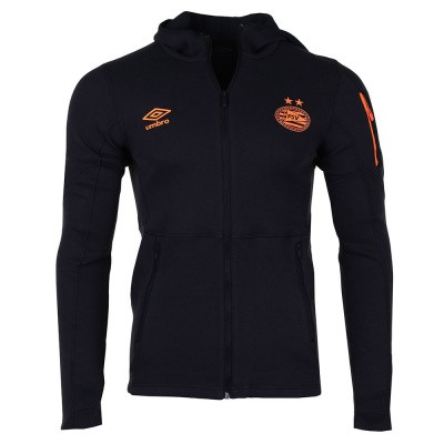 Foto van PSV Fleece Trainingspak Black