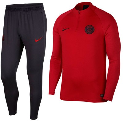 Foto van Paris Saint-Germain Dri-FIT Squad Drill University Red