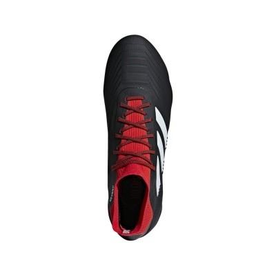 Foto van Adidas Predator 18.1 FG Zwart-Rood