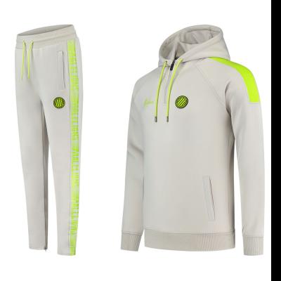 Foto van Malelions Sport Striker Hoodie Set Grey Lime