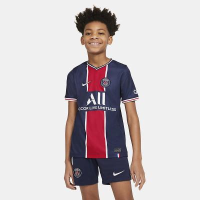 Foto van Paris Saint-Germain 2020/21 Stadium Thuis Voetbalshirt voor Kids