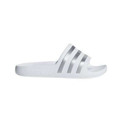 Foto van Adidas Adilette Aqua Slippers White Kids
