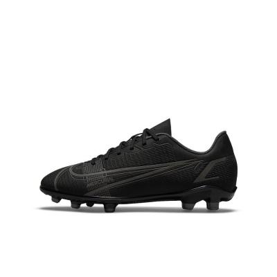 Foto van Nike Mercurial Vapor 14 Club FG/MG Kids Black Iron Grey