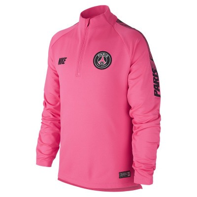Foto van Paris Saint-Germain Dri-FIT Squad Drill Set Kids Pink