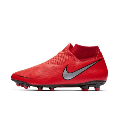Foto van Nike Phantom Vision Academy Dynamic Fit FG Bright Chrimson