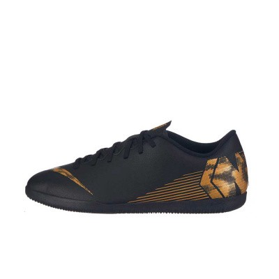 Foto van Nike VaporX 12 Club IC Black-Gold