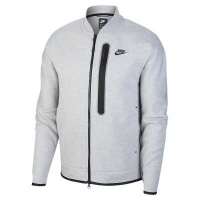 Foto van Nike Sportswear Tech Fleece Bomberjack Dark Grey Heather