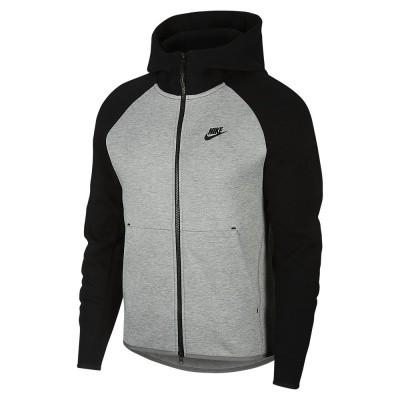 Foto van Nike Sportswear Tech Fleece Dark Grey Heather Black