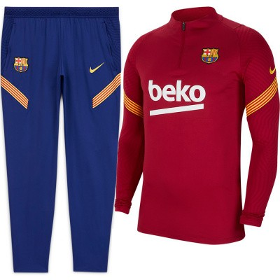 Foto van FC Barcelona Dri-FIT Strike Drill Set Noble Red