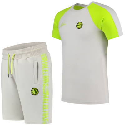 Foto van Malelions Sport Striker Summer Set Grey Lime