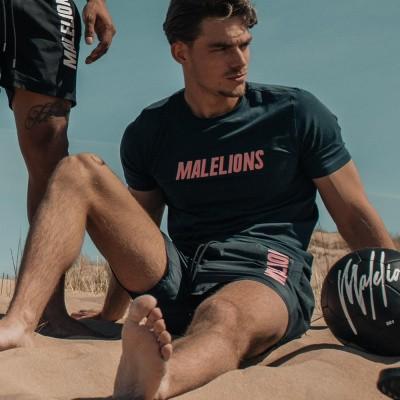 Foto van Malelions T-Shirt Nium Navy