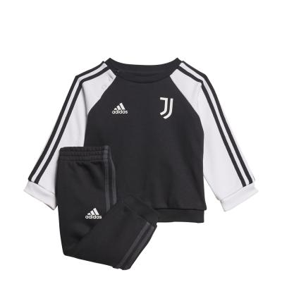 Foto van Juventus 3-Stripes Baby Joggingpak Black White