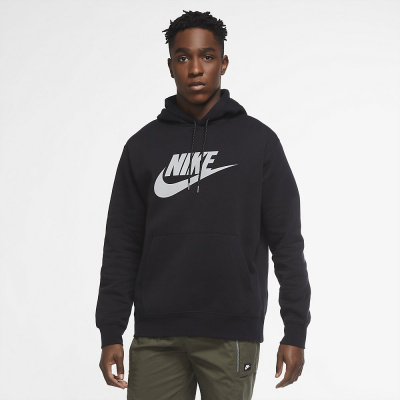 Foto van Nike Sportswear Club Hooded Fleece Set Black