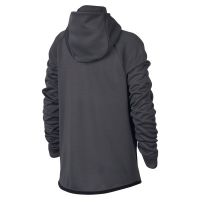 Foto van Nike Sportswear Tech Fleece Hoodie Kids Dark Grey