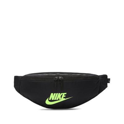 Foto van Nike Sportswear Heritage heuptas Zwart-Lime