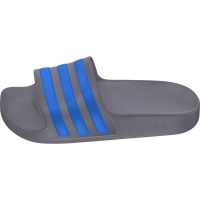 Foto van Adidas Adilette Aqua Slippers Grey-Three Kids