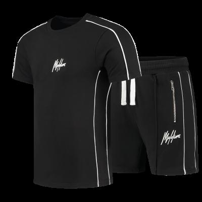 Foto van Malelions Sport Thies Summer Set Black White