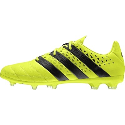 Foto van Adidas ACE 16.2 Leather Geel FG