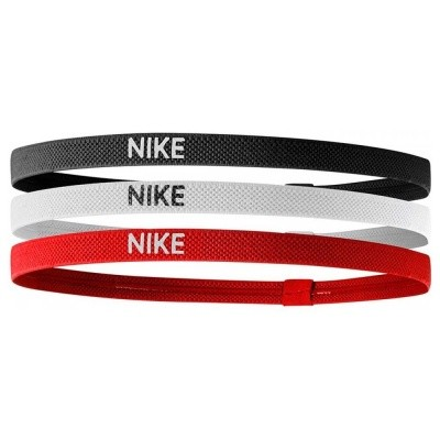 Foto van Nike Elastic Hairband 3 Stuks Blauw/Wit/Rood