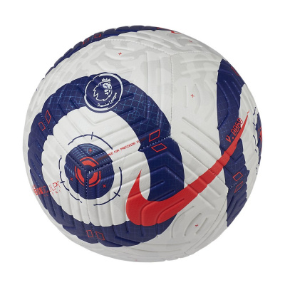 Foto van Nike Premier League Strike Voetbal White Blue Laser Crimson
