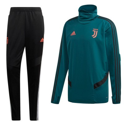 Foto van Juventus Warm-up Set Mystery Green