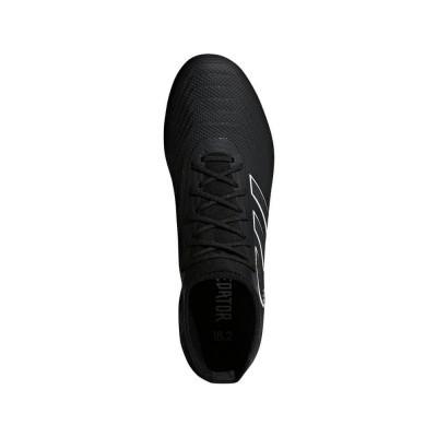 Foto van Adidas Predator 18.2 FG Zwart