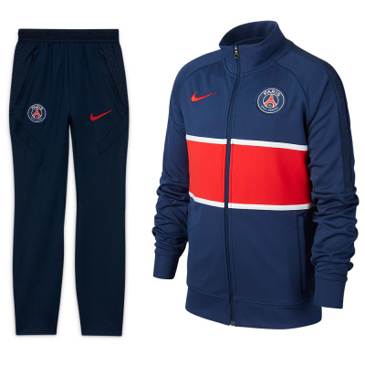 Foto van Paris Saint-Germain Trainingspak Kids Midnight Navy