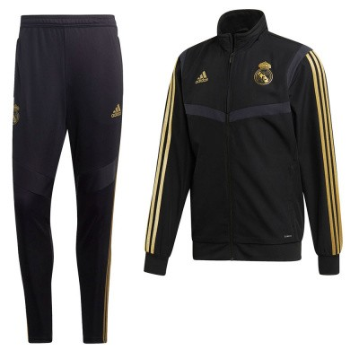 Foto van Real Madrid Presentatiepak Black