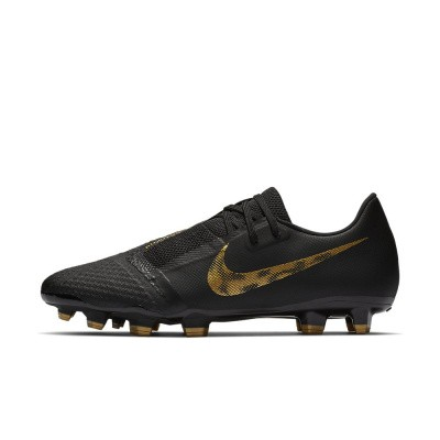 Foto van Nike PhantomVNM Academy FG Black-Gold