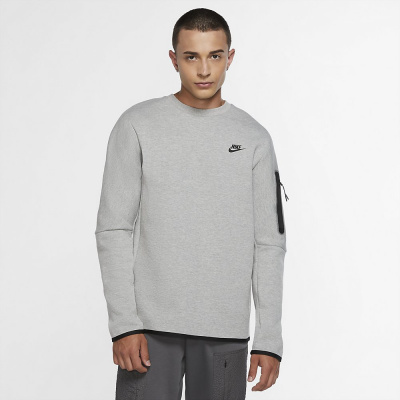 Foto van Nike Sportswear Tech Fleece Sweater Dark Grey Heather