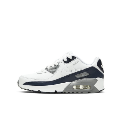 Foto van Nike Air Max 90 Kids Leather White Grey
