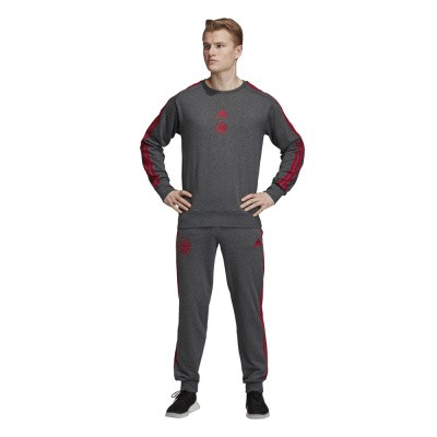 Foto van AJAX 3S Sweat Set Dark Grey Heather