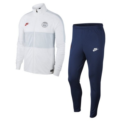 Foto van Paris Saint-Germain Dri-FIT Squad Trainingspak White