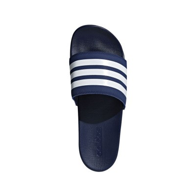 Foto van Adidas adilette Cloudfoam Plus Mono Slippers Dark Blue
